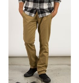 VOLCOM VOLCOM Frickin Modern Stretch Chino Pants Dark Khaki