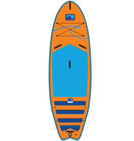 "BLU WAVE BLU WAVE Quiv-Air 8'2"" Inflatable Sup"