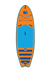 "BLU WAVE BLU WAVE Quiv-Air 9'2"" Inflatable Sup"