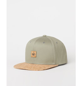 TENTREE TENTREE Freeman Hat Vetiver Green/Cork