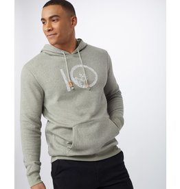 TENTREE TENTREE Plane Ten Hoodie Vetiver Green Marled