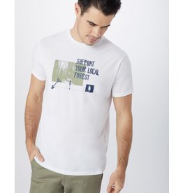 TENTREE TENTREE Scenic Support Tee White