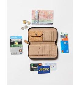 TENTREE TENTREE Cork Zipper Wallet Ev2 Cork