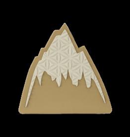 BURTON BURTON Foam Mat Stomp Pad Mountain Logo