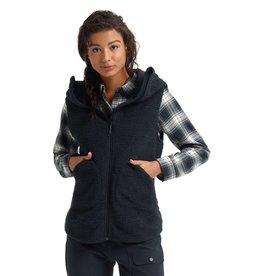 BURTON BURTON Minxy Vest True Black Sherpa