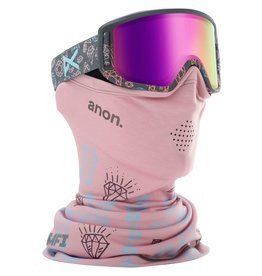 ANON ANON Relapse Jr MFI Goggle Bling/Pink Amber