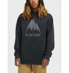 BURTON BURTON Oak Pullover Hoodie Mountain True Black Heather