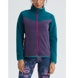 BURTON BURTON Nomar Full-Zip Deep Teal / Purple Velvet