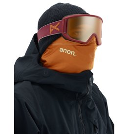 ANON ANON Relapse MFI Goggle + Bonus Lens Maroon/Sonar Bronze