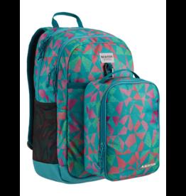 BURTON BURTON Kids Lunch-n-Pack Backpack Green-Blue Slate Morse Geo Print