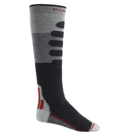 BURTON BURTON Performance+ Midweight Sock Gray Heather