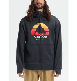 BURTON BURTON Oak Full-Zip Hoodie Sunset True Black Heather