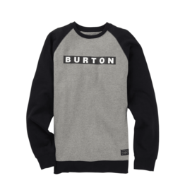 BURTON BURTON Vault Crew Gray Heather
