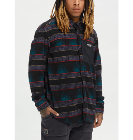 BURTON BURTON Hearth Fleece Shirt Spurwink / True Black