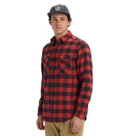 BURTON BURTON Brighton Flannel Tandori Heather Buffalo Plaid