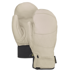 BURTON BURTON Gondy GORE-TEX Leather Mitt Creme Brulee