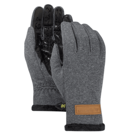 BURTON BURTON Sapphire Glove True Black Heather