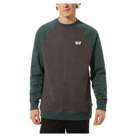 VANS VANS Rutland III Shirt Asphalt Heather-Vans Trekking Green Heather