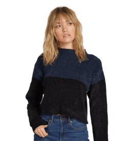 VOLCOM VOLCOM Madame Shady Sweater Sea Navy