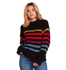 VOLCOM VOLCOM Move On Up Sweater Black Combo