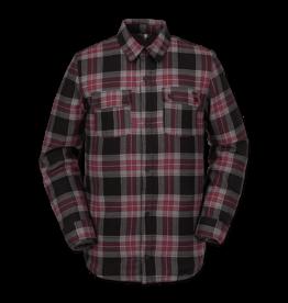 VOLCOM VOLCOM Sherpa Flannel Jacket Red