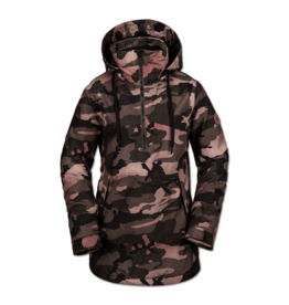 VOLCOM VOLCOM Fern Insulated Gore Pull Over Faded Army