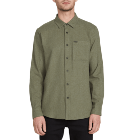 VOLCOM VOLCOM Caden Solid L/s Army Green Combo