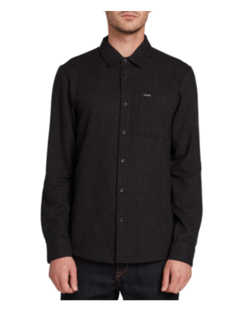 VOLCOM VOLCOM Caden Solid Long Sleeve Black