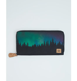 TENTREE TENTREE Banker Zip Wallet Meteorite Black/Northern Juniper