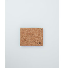 TENTREE TENTREE Baron Wallet Cork Fabric