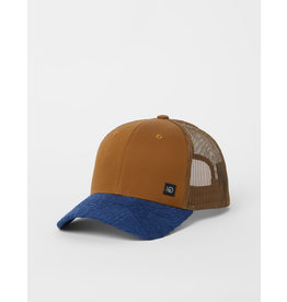 TENTREE TENTREE Elevation Hat Rubber Brown/Dark Ocean