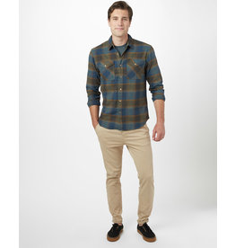 TENTREE TENTREE Bowren Button Up Bowren Plaid Moss