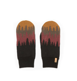 TENTREE TENTREE Purcell Mittens Bark Brown Juniper