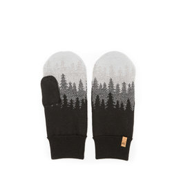TENTREE TENTREE Purcell Mittens Meteorite Black Juniper