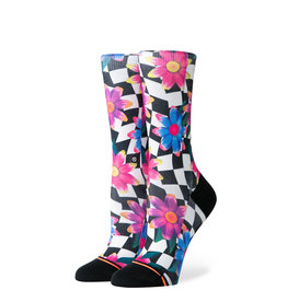 STANCE STANCE Crazy Daisy Crew Black