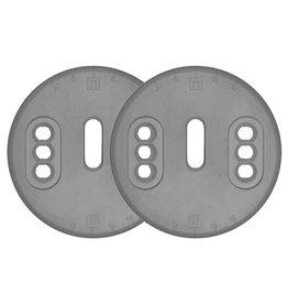 NOW Mounting Discs EST Nylon pair