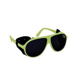 AIRBLASTER AIRBLASTER Polarized Glacier Glasses Hot Green