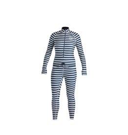 AIRBLASTER AIRBLASTER Wms Hoodless Ninja Suit Vintage Navy Stripe