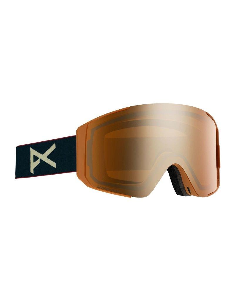 ANON BURTON Sync Goggle + Bonus Lens Royal/Sonar Bronze