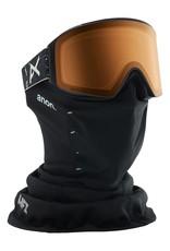 ANON ANON M4 Cylindrical Goggle + Bonus Lens Topo Black/Sonar Night