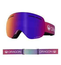 DRAGON DRAGON X1s Candy with Lumalens Purple Ionized Lumalens Amber Lens