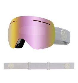 DRAGON DRAGON X1s Whiteout with Lumalens Pink Ionized Lumalens Dark Smoke Lens