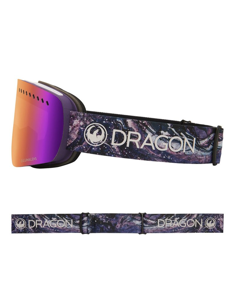 DRAGON DRAGON NFXs Lavender with Lumalens Purple Ionized Lumalens Amber Lens