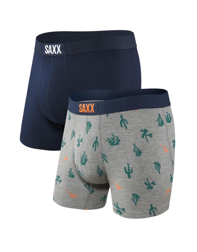 SAXX SAXX Vibe Boxer Brief 2PK - Cactus/Navy