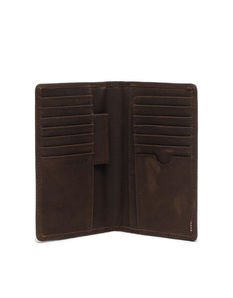 HERSCHEL HERSCHEL Search Leather Nubuck Brown