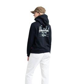 HERSCHEL HERSCHEL Pullover Hoodie Classic Logo Black/White