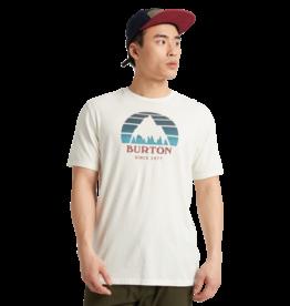 BURTON BURTON Men's Underhill Short Sleeve T Shirt Stout White