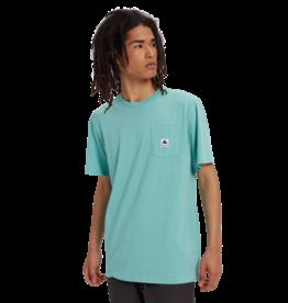 BURTON BURTON Men's Colfax Organic Short Sleeve T Shirt Buoy Blue