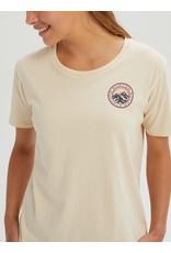 BURTON BURTON Women's Ashmore Short Sleeve Scoop T Shirt Creme Brulee