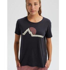 BURTON BURTON Women's Classic Retro Short Sleeve T Shirt True Black